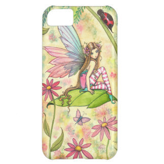Cute Fairy and Ladybug Fantasy Art Case For iPhone 5C
