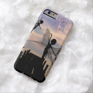 Cute fairy dancing on a jetty barely there iPhone 6 case