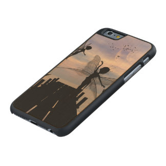 Cute fairy dancing on a jetty carved® maple iPhone 6 slim case