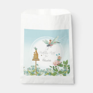 Cute Fairy Faerie Themed Birthday Party Favors Favour Bag