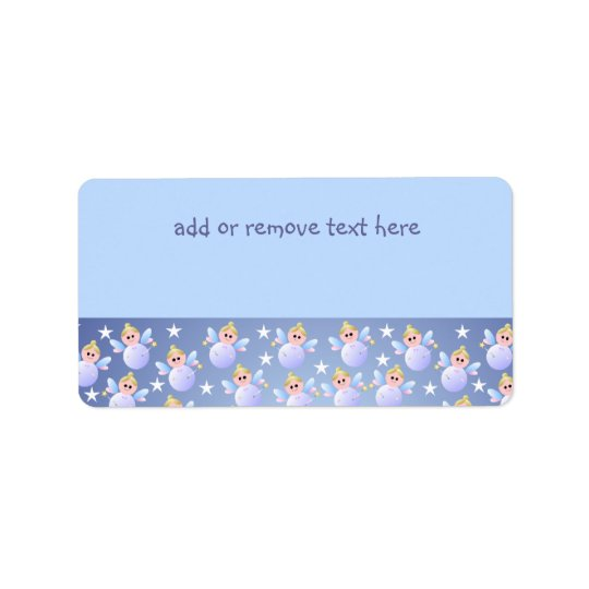 Cute Fairy Godmother Address Label