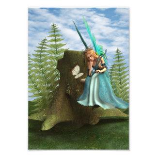 Cute Fairy Photographic Print