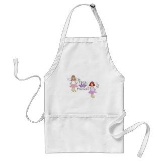 Cute Fairy Princess Design Standard Apron