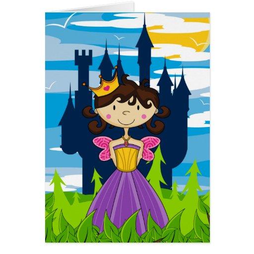 Cute Fairy Princess Greeting Card
