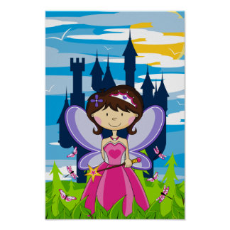 Cute Fairy Princess Poster