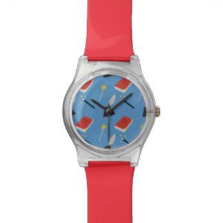 Cute Fairy Tale Pattern Wrist Watch