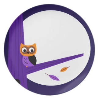 Cute fairytale Owl : Zazzle products are in shop Plate