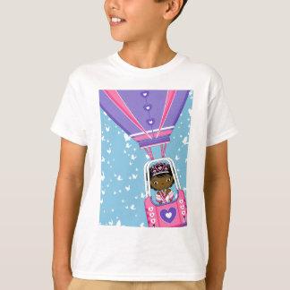 Cute Fairytale Princess in Hot Air Ballon T-Shirt