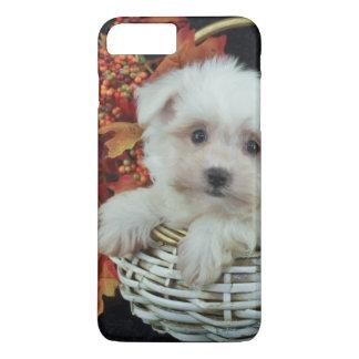 Cute Fall Puppy iPhone 7 Plus Case