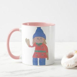 Cute Fall Scarecrow Mug