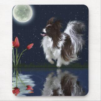 Cute Fantasy PAPILLON DOG Mousepad