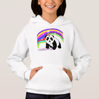 Cute Fantasy Rainbow Panda Unicorn Personalized