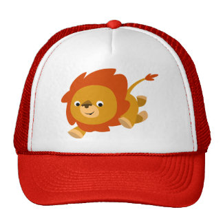 Cute Fast Cartoon Lion Hat