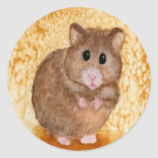 Cute Fat Hamster Stickers