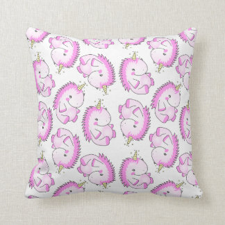 Cute Fat Unicorn Pillow Cushion
