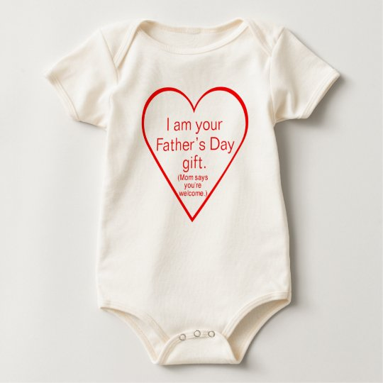 Cute Father's day gift - baby Baby Bodysuit