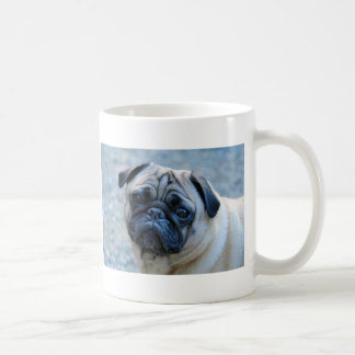 Cute Fawn Pug Coffee Mug