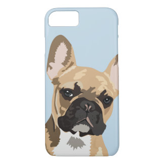 Cute Fawn Red French Bulldog iPhone 8/7 Case