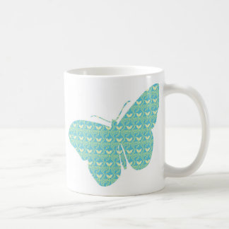 Cute feminine butterfly coffee mug