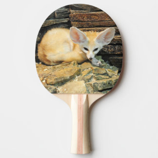 Cute fennec fox ping pong paddle