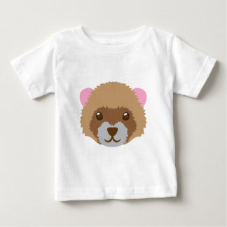 cute ferret face baby T-Shirt