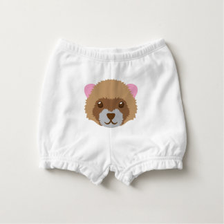 cute ferret face diaper cover