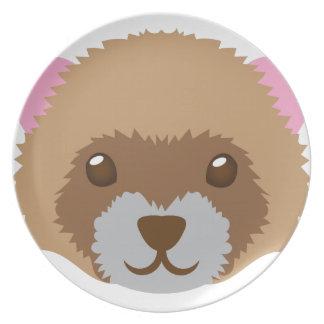 cute ferret face plate