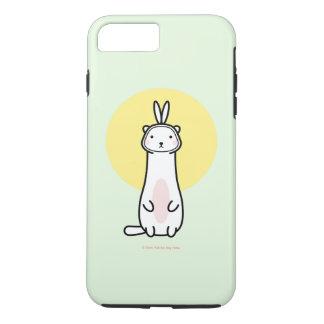 Cute Ferret in Bunny Costume iPhone 7 Plus Case