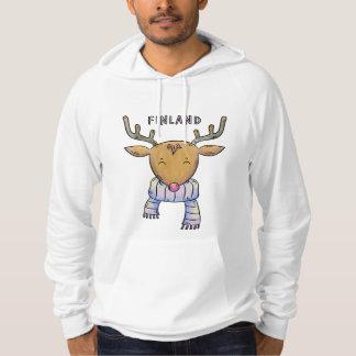Cute Finland Reindeer shirts & jackets