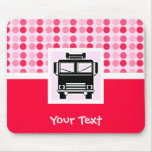 Cute Fire Truck Mouse Pad