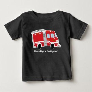 Cute Firetruck Baby T-Shirt