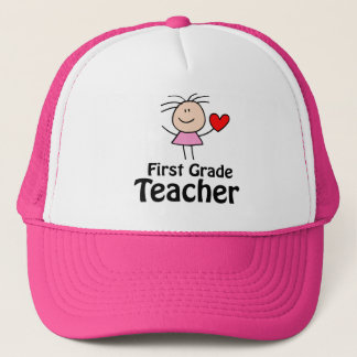 Cute First Grade Teacher Cap