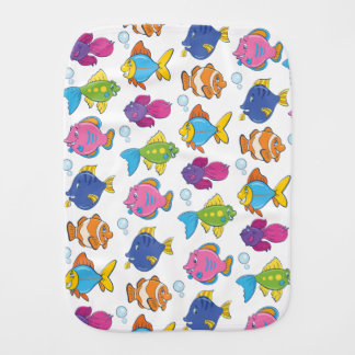 Cute Fish Burp Cloth