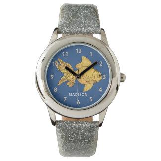 Cute Fish custom name watches