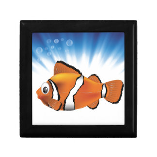 Cute fish gift box