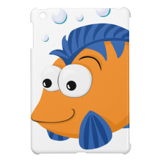 Cute fish iPad mini cover