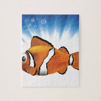 Cute fish jigsaw puzzle
