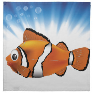 Cute fish napkin