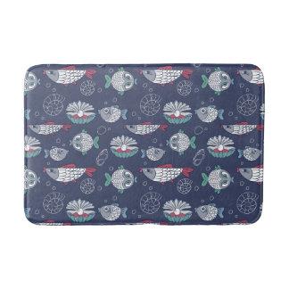 Cute Fish Pattern bath mats