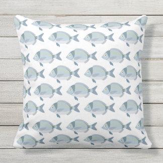 Cute Fish Pattern throw pillows