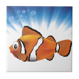 Cute fish tile