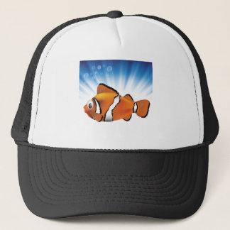 Cute fish trucker hat