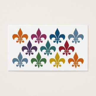 Cute Fleur De Lis Business Cards