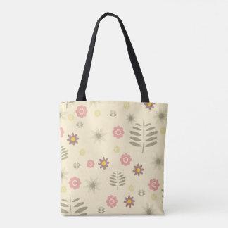 Cute Flora and Fauna Inspired Tota Bag