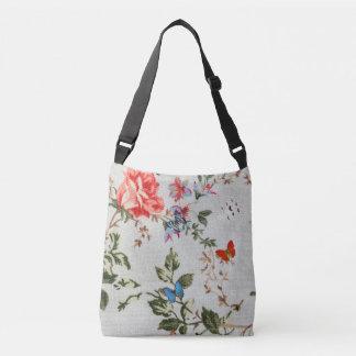 Cute floral and Butterflies  Cross Body Bag
