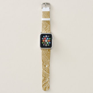 Cute Floral Apple Watch Band Abstract Flowers 4