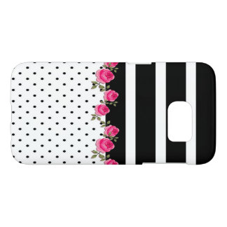 cute floral/striped/polka dots Samsung case