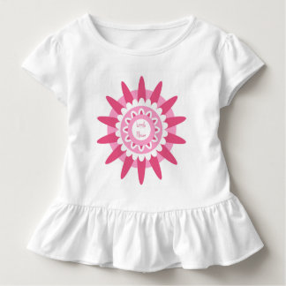 Cute floral tee for a little girl