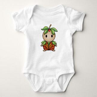 Cute Flower Nymph Baby Bodysuit