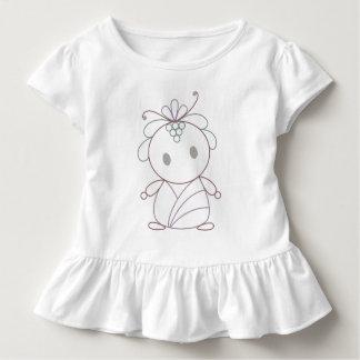 Cute Flower Nymph Toddler T-shirt